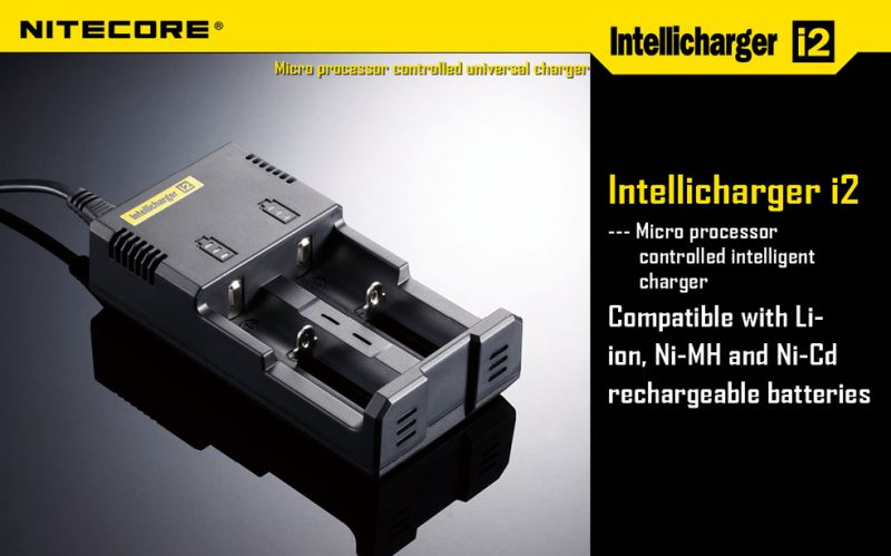 Nitecore Intellicharge i2 V2