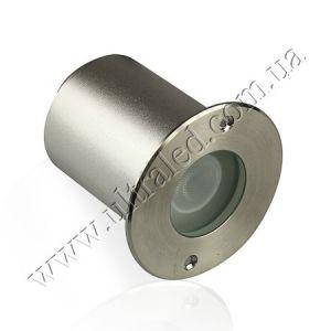 Светильник светодиодный грунтовый 2C07RGB, 1x3W, 24V