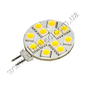 Светодиодная лампа G4-12SMD-5050R (warm white)