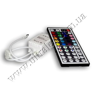RGB контроллер ИК44 ДУ 12В, 2А