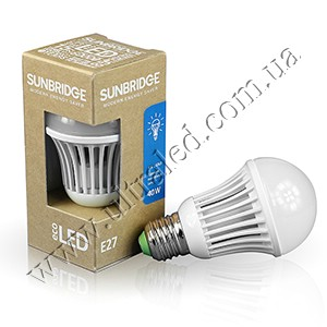 Лампа светодиодная E27-TGS60 4W (white)