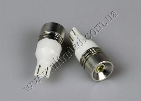 Лампа светодиодная ЗАДНИЙ ХОД T10-3W CREE (white)
