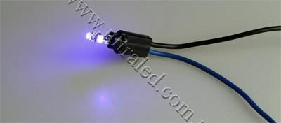 Лампа светодиодная подсветки приборной панели T5-3SMD-1210 (blue)