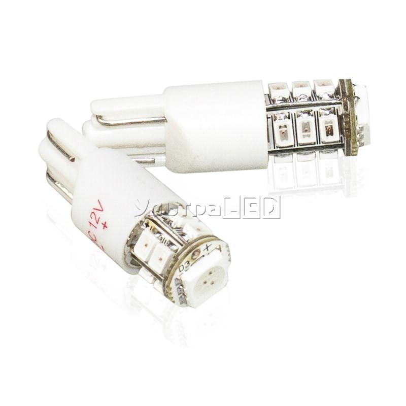 Лампа светодиодная T10-12-1(red)
