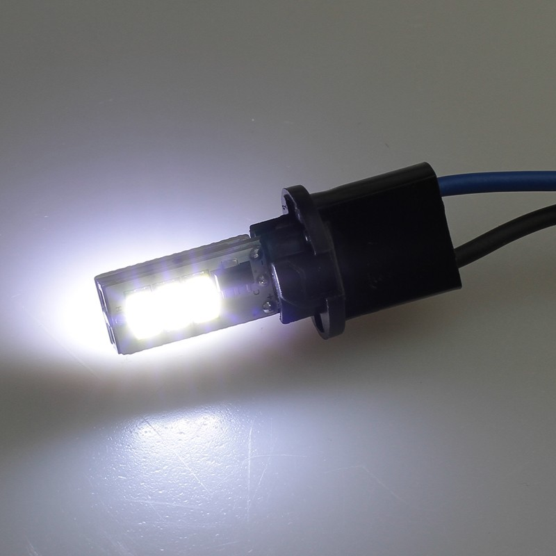 Лампа светодиодная передних габаритов с ОБМАНКОЙ BA9S-9SMD-EF (white)