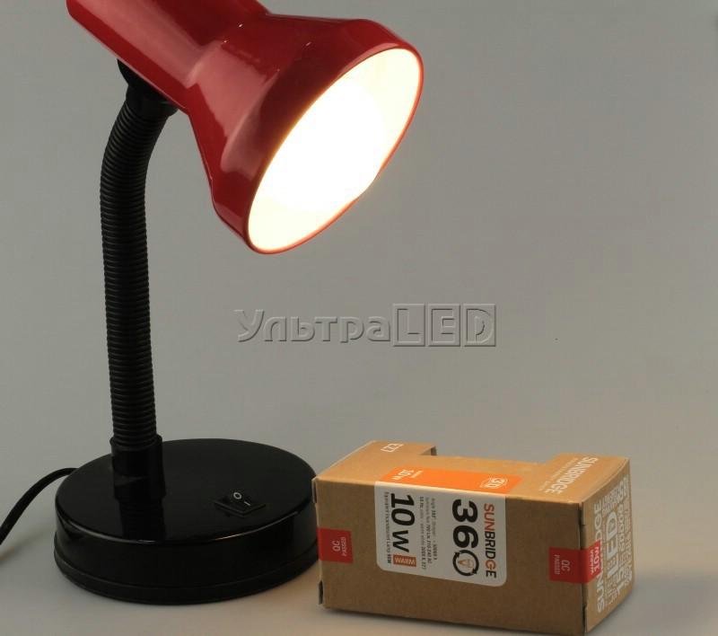Лампа светодиодная SUNBRIDGE 3D E27-10WW