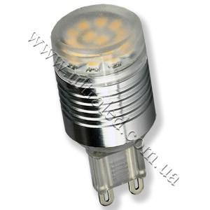 Лампа светодиодная G9-2W-12SMD (warm white)