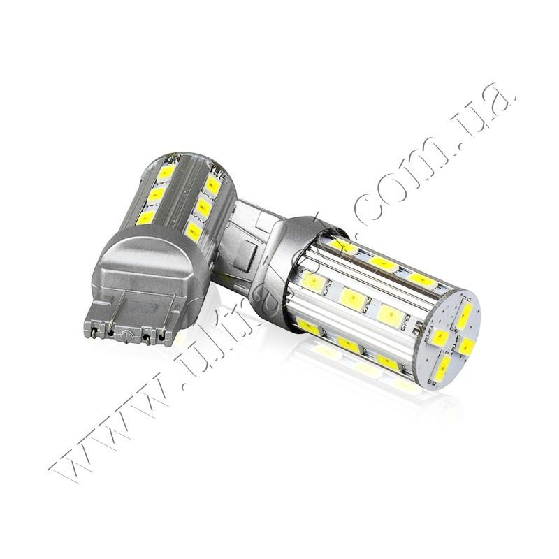 Лампа светодиодная ГАБАРИТ-ПОВОРОТ 7443-22SMD-5630 (white&yellow)