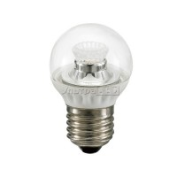 Лампа светодиодная CIVILIGHT E27-5W Clear (warm white) (G45 WP25V4)