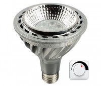 Лампа светодиодная CIVILIGHT E27-PAR-20W Dimmable (warm white) (DPAR30 KP07T20)